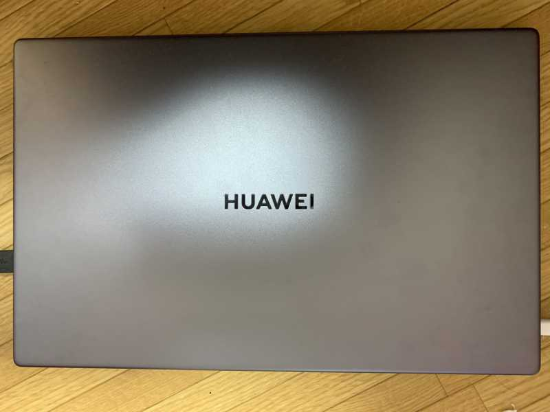 HUAWEI MateBook D 15ノートパソコンの外観