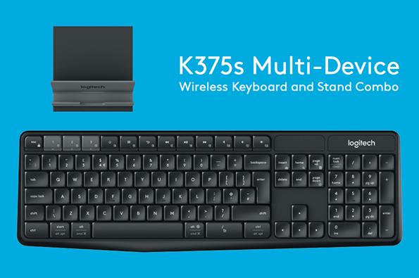 キーボード:Logicool K375s Multi-Device Wireless Keyboard