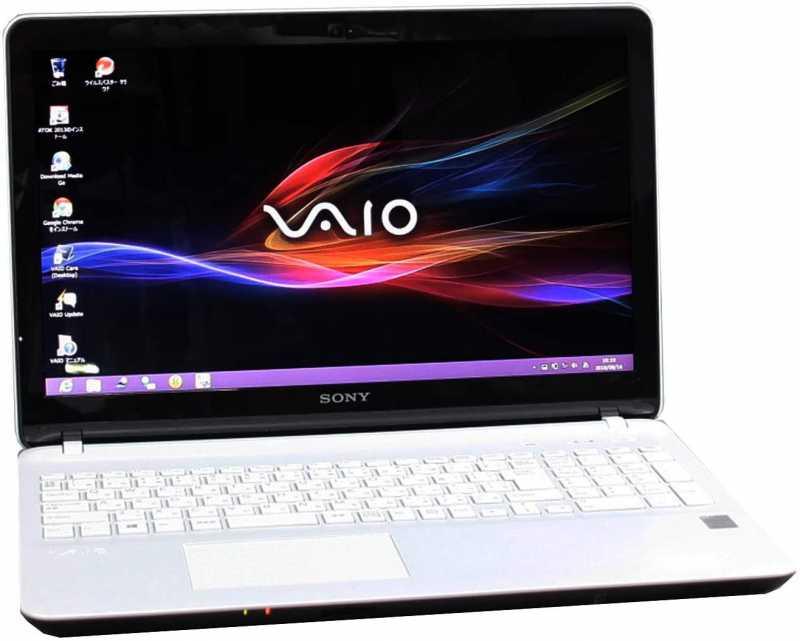 ノートパソコン:Sony VAIO SVF153B1GN
