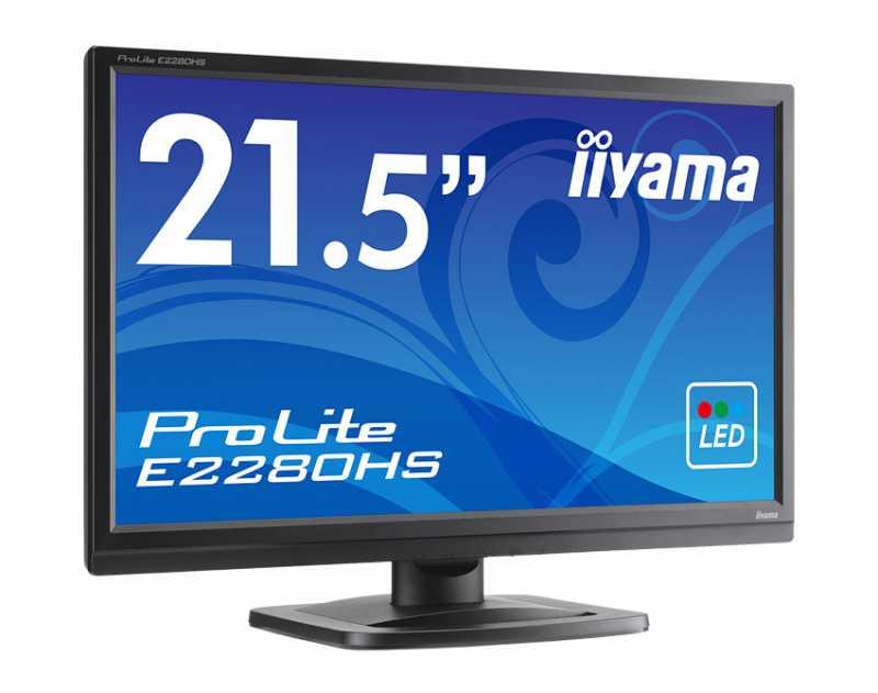 PCモニター:iiyama  ProLite E2280HS