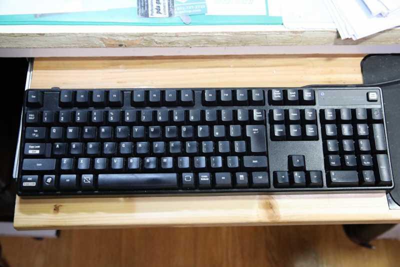 ELECOM TK-FCK024BKのキーボード