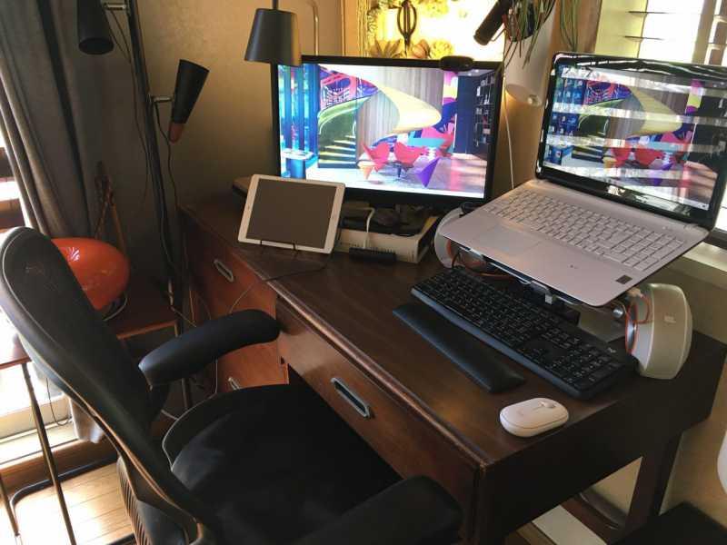 WEBライターの自宅のパソコン作業環境
