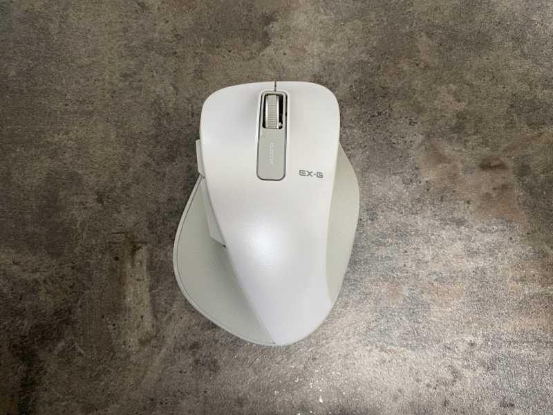 エレコム EX-G M-XGL10DBマウスのスペックの本体