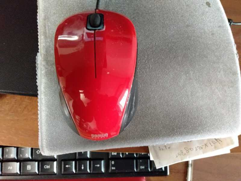 サンワサプライ MA-BL9(静音有線ブルーLED)マウス本体