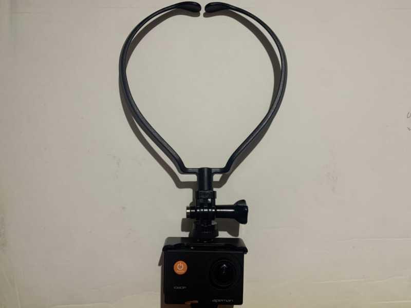 APEMAN A66(Full HD)アクションカメラのネックマウント
