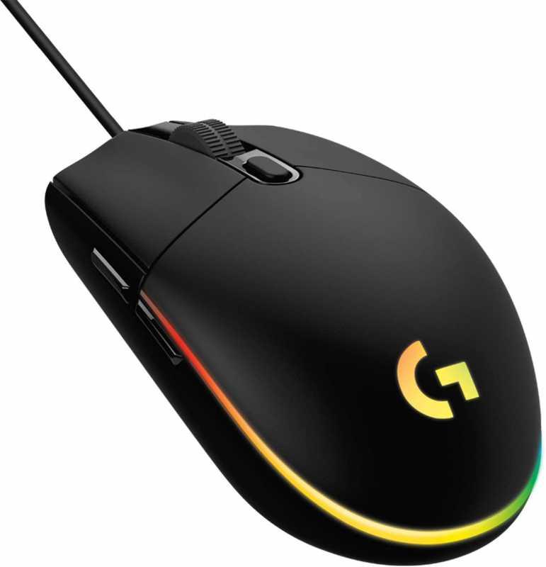 Logicool G203(LIGHTSYNC RGB)ゲーミングマウスのスペック