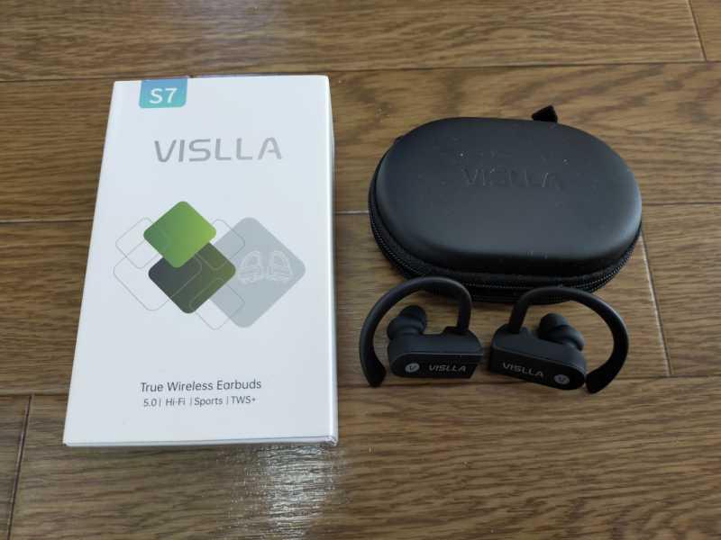 VISLLA S7ワイヤレスイヤホンの付属品