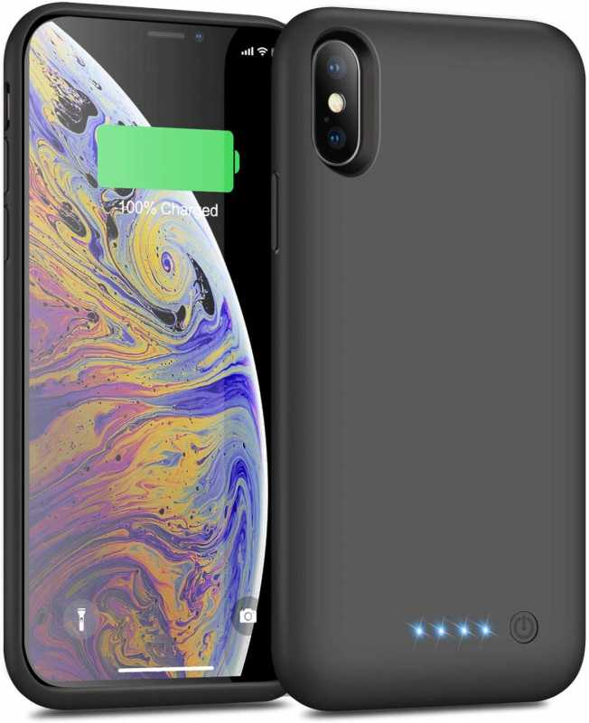 Yacikos 6500mAh バッテリーケース(iPhone X  XS  10  5.8インチ用)モバイルバッテリーのスペック
