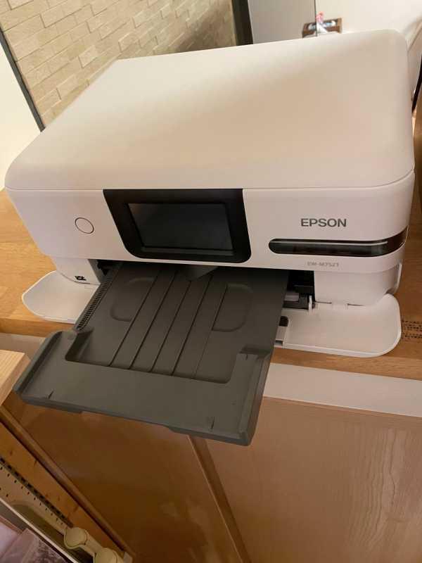 エプソン  カラリオ EP-883Aプリンターの給紙台