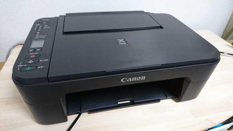 Canon PIXUS TS3130プリンターの本体