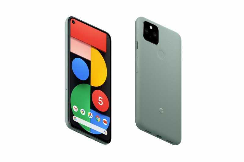 Google Pixel 5スマートフォン(SIMフリー)のスペック
