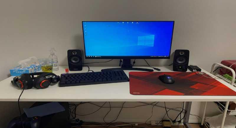 自宅のPCゲーム環境の使い方:26歳男性のパソコン作業環境