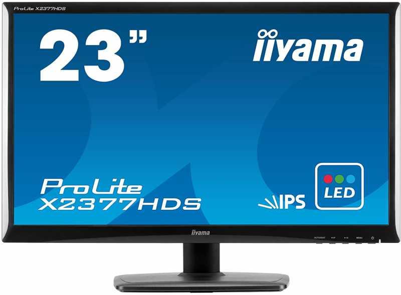 液晶ディスプレイ:iiyama ProLite X2377HDS-B