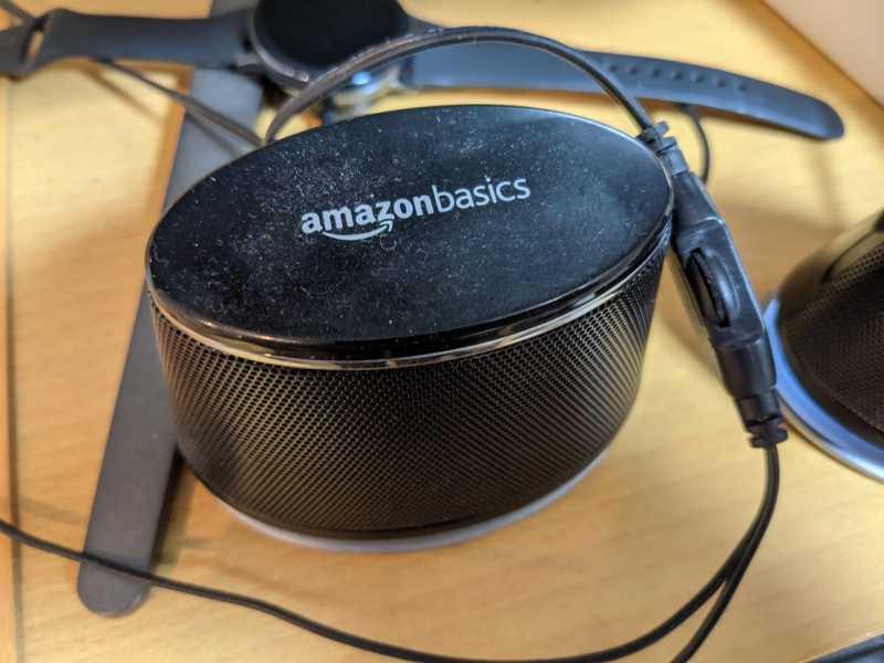 Amazonベーシック ダイナミックサウンドスピーカーのラジエーター