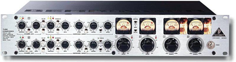BEHRINGER TUBE COMPOSER T1952音声コンプレッサー