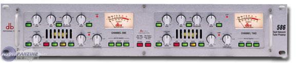 DBX 586マイクプリアンプ