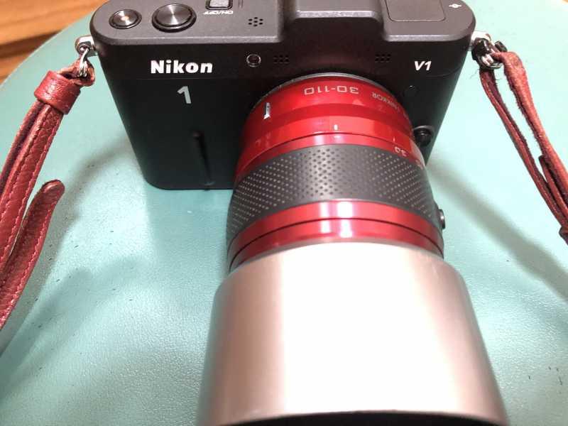 Nikon 1 V1デジタルカメラのカメラレンズ