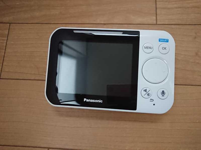 パナソニック KX-HC705ベビーモニターのディスプレイ
