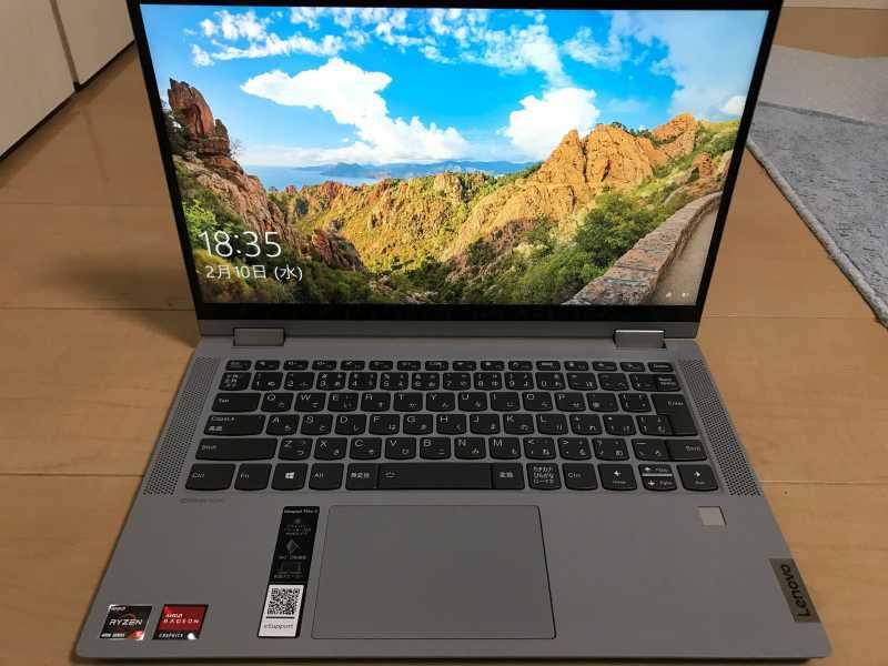 Lenovo IdeaPad Flex 550ノートパソコン液晶ディスプレイ