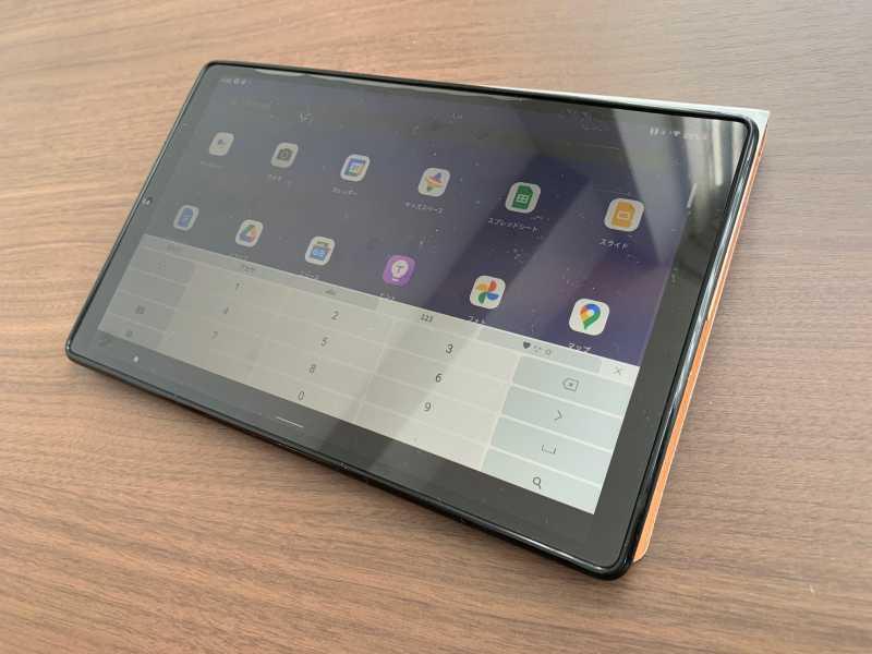 Lenovo Tab M10 HD (2nd Gen)タブレットのタッチキーボード