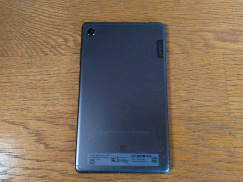 Lenovo Tab M7タブレットの外観