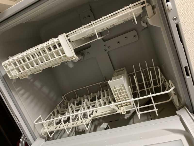 Panasonic NP-TH2食器洗い乾燥機の収納量