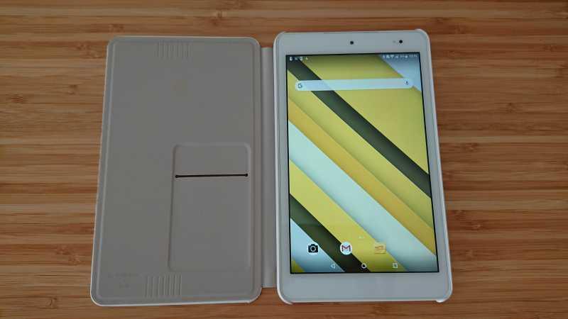 Qua tab QZ8タブレットの液晶ディスプレイ