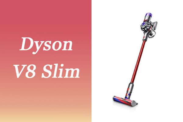 Dyson V8 Slim Fluffyコードレス掃除機のスペック