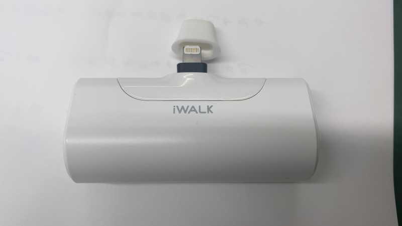 iWALK Link Me 4 4500mAhモバイルバッテリーの端子