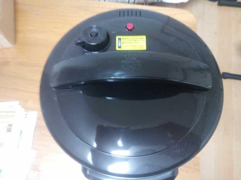 オークローンマーケティング PKPWS01 プレッシャーキングプロ電気圧力鍋の操作パネル