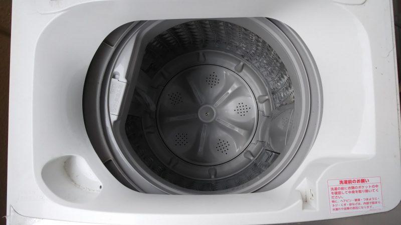 ツインバードWM-EC55W全自動洗濯機の洗濯槽