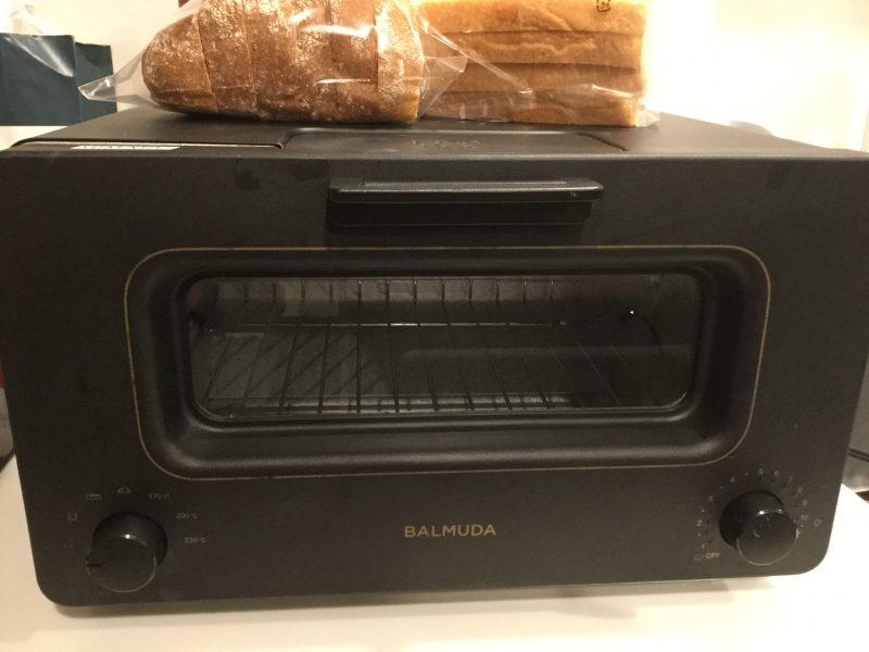 バルミューダ The Toaster K05Aオーブントースターの外観