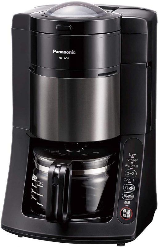 パナソニック NC-A57コーヒーメーカーのスペック