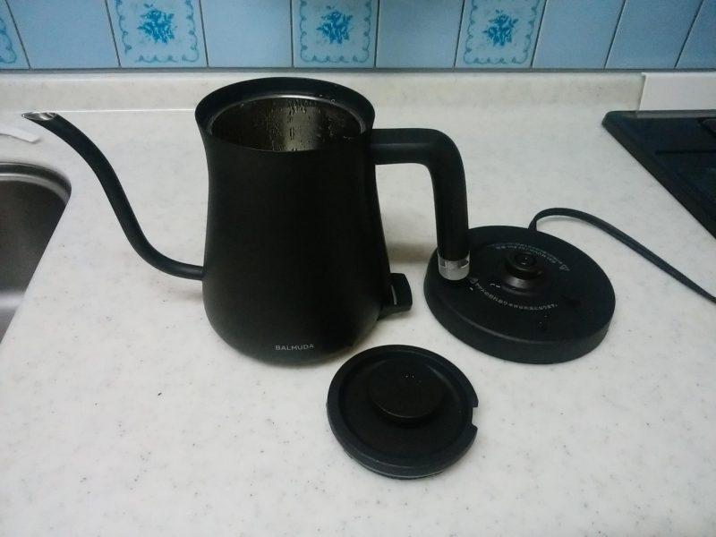 BALMUDA The Pot(バルミューダ ザ・ポット)K02A電気ケトルの付属品