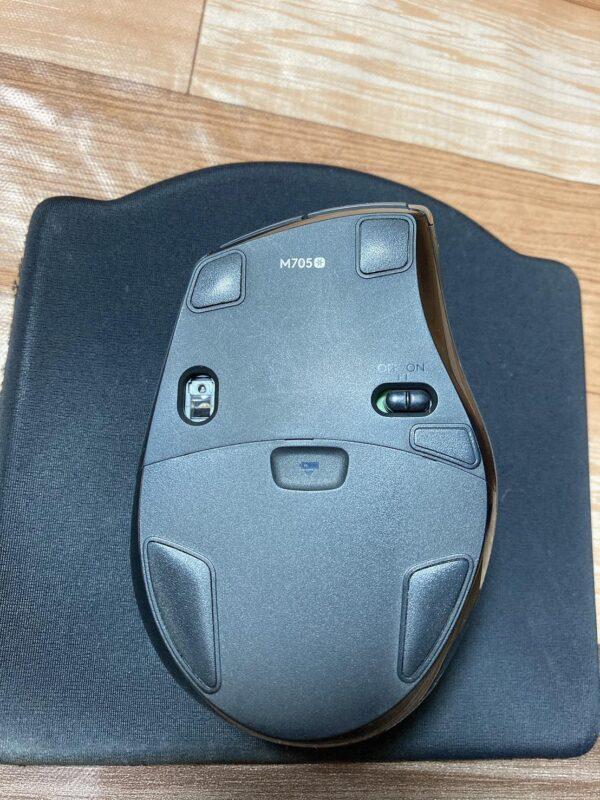 ロジクール M705 Marathon Laser Mouseマウスのセンサー