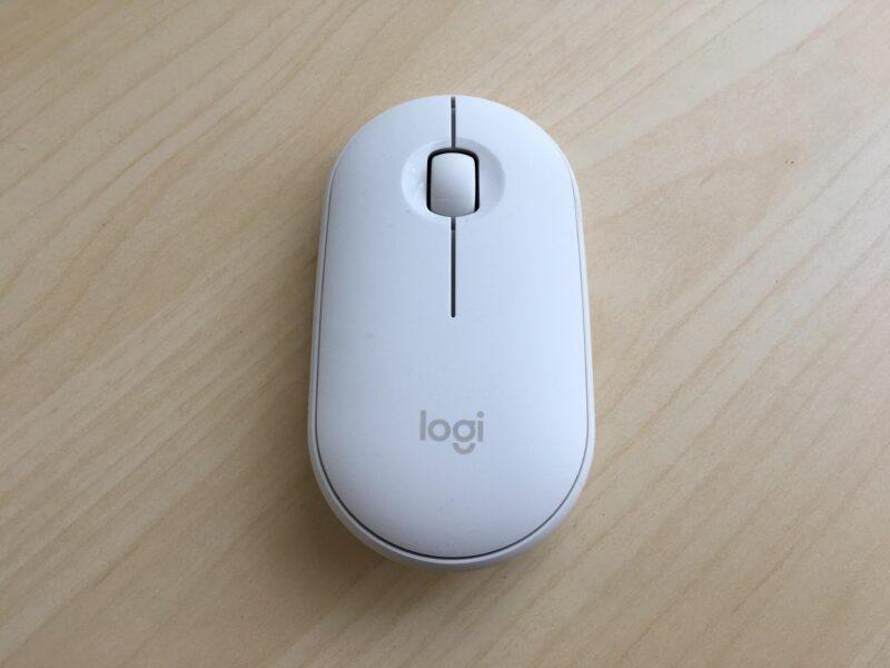 ロジクール Pebble M350マウスの薄さ