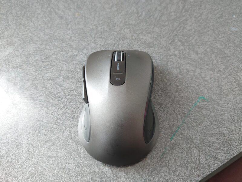 ELECOM M-NK01マウスのサイズ