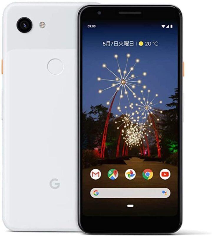 Google Pixel 3aスマートフォン(SIMフリー)のスペック