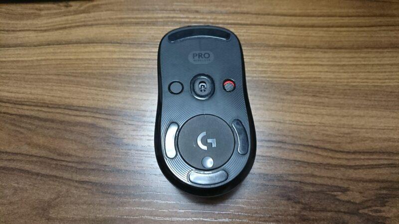 Logicool G PRO WIRELESSゲーミングマウスのセンサー