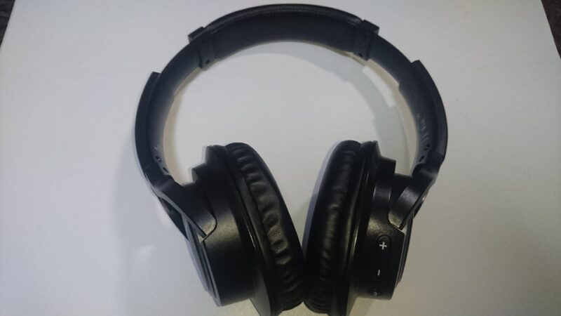 Mpow H7(BH162AB)Bluetoothヘッドホンのサイズ