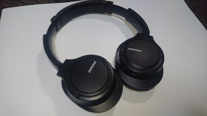 Mpow H7(BH162AB)Bluetoothヘッドホンの密閉感