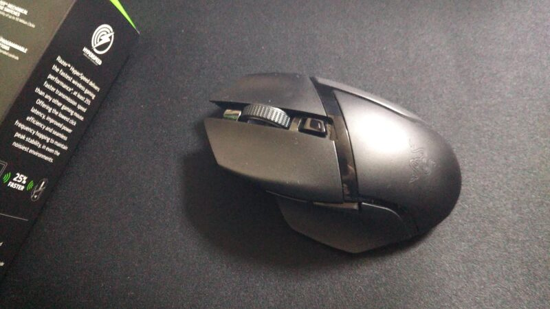 Razer Basilisk X Hyperspeed Oneゲーミングマウスの本体