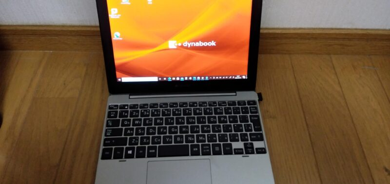 TOSHIBA dynabook K1 (10.1) ノートパソコンの液晶ディスプレイ
