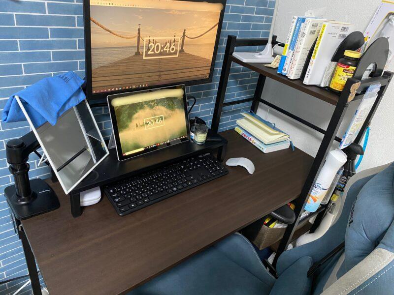 「まっきー」さんの自宅のパソコン作業環境