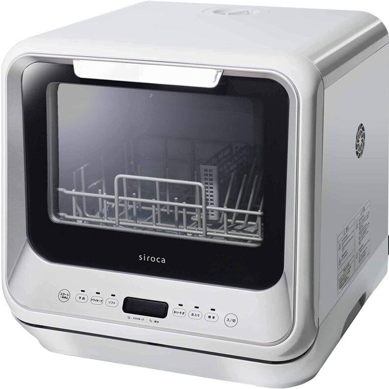 シロカ SS-M151食器洗い乾燥機のスペック