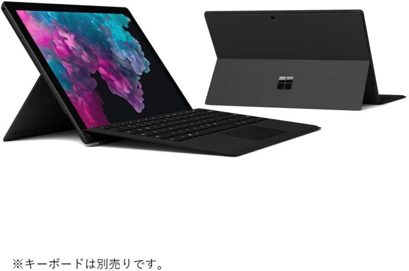 パソコン:マイクロソフト Surface Pro 6