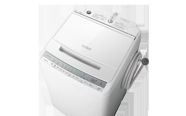 日立 ビートウオッシュ BW-V80F全自動洗濯機のスペック