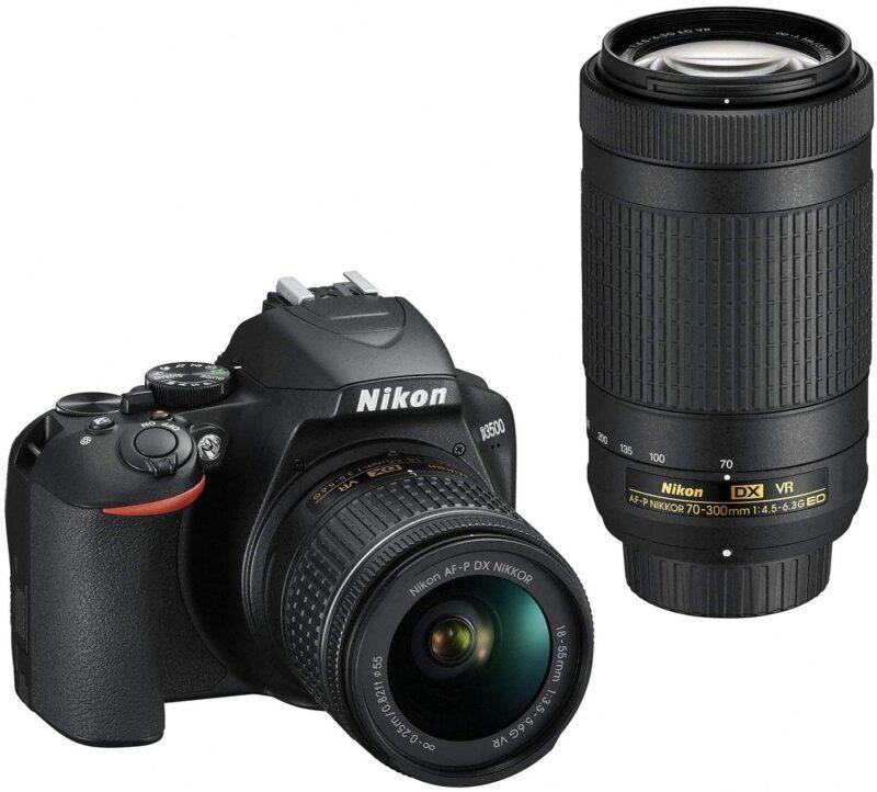 Nikon D3500 ダブルズームキットデジタルカメラのスペック