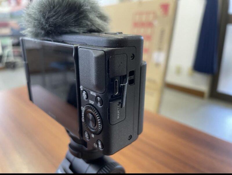 SONY VLOGCAM ZV-1Gデジタルカメラの使用感