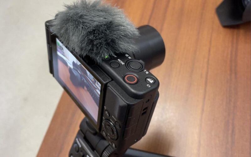 SONY VLOGCAM ZV-1Gデジタルカメラの簡単な操作